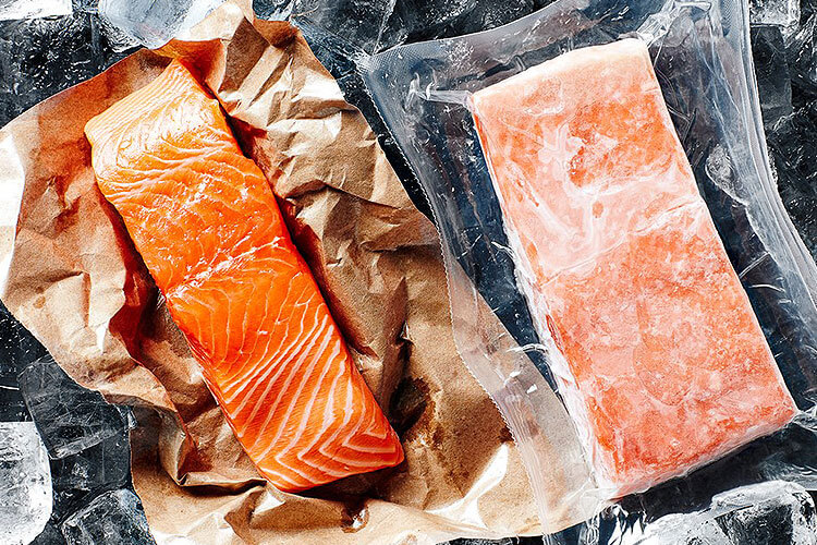 How to freeze fresh fish at home